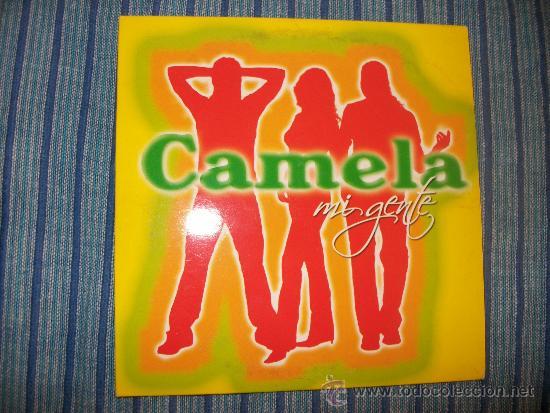 PROMO CD SINGLE - CAMELA - MI GENTE (Música - CD's Flamenco, Canción española y Cuplé)