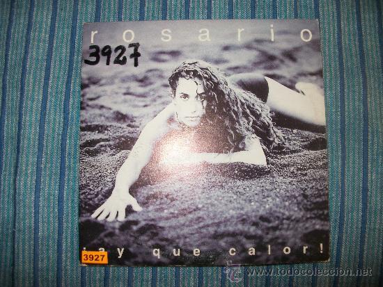 PROMO CD SINGLE - ROSARIO - AY QUE CALOR (Música - CD's Flamenco, Canción española y Cuplé)