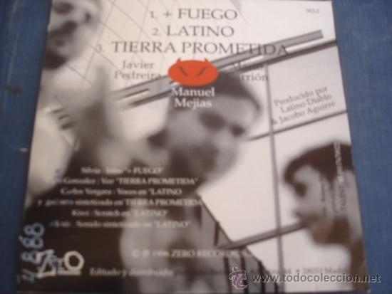 CDs de Música: LATINO DIABLO CD SINGLE 3 TRACKS - Foto 2 - 37925784