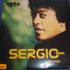 CDs de Música: SERGIO VARGAS VETE Y DILE PROMO CD SINGLE. Lote 37930076