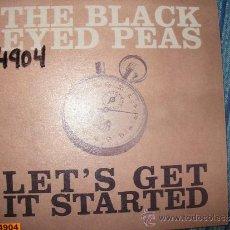 CDs de Música: PROMO CD SINGLE - THE BLACK EYED PEAS - LET'S GET IT STARTED. Lote 37964280