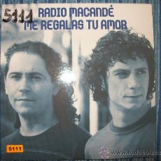 CDs de Música: PROMO CD SINGLE - RADIO MACANDE - ME REGALAS TU AMOR. Lote 37967150