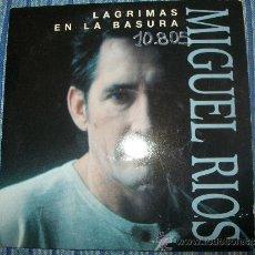 CDs de Música: PROMO CD SINGLE - MIGUEL RIOS - LAGRIMAS EN LA BASURA. Lote 37967999