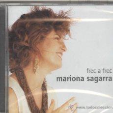 CD de Música: MARIONA SEGARRA. FREC A FREC. CANTA VINYOLI, SAGARRA, DESCLOT, ANDRÉS ESTELLES CD. NUEVO PRECINTADO. Lote 37974260