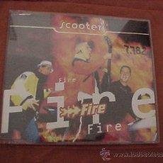 CDs de Música: SCOOTER. FIRE. CD PROMOCIONAL. EDICION INGLESA. Lote 37981238