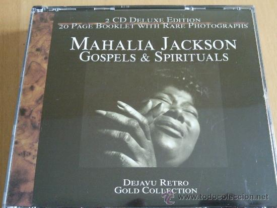 MAHALIA JACKSON GOSPELS & SPIRITUALS DOBLE CD CAJA (Música - CD's Jazz, Blues, Soul y Gospel)