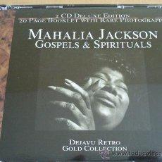 CDs de Música: MAHALIA JACKSON GOSPELS & SPIRITUALS DOBLE CD CAJA. Lote 37983990