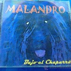 CDs de Música: MALANDRO 'BAJO EL CHAPARRÓN'. ROCK SUREÑO DESDE SEVILLA. EP 6 TEMAS.. Lote 37997582