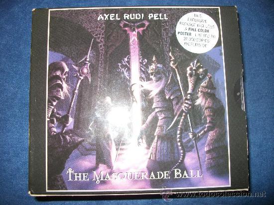 AXEL RUDI PELL - THE MASQUERADE BALL - EDICION LIMITADA 20000 COPIAS CON POSTER FIRMADO POR LA BANDA (Música - CD's Heavy Metal)