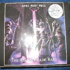 CDs de Música: AXEL RUDI PELL - THE MASQUERADE BALL - EDICION LIMITADA 20000 COPIAS CON POSTER FIRMADO POR LA BANDA. Lote 38005708