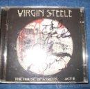 CDs de Música: 2CD VIRGIN STEEL- HOUSE OF ATREUS ACT 2 - FIRMADO POR DAVE DEFEIS Y PURSINO - DEFEIS MUSIC 1999-2000. Lote 38006242