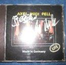 CDs de Música: AXEL RUDI PELL- MADE IN GERMANY CON JEFF SCOTT SOTO FIRMADO POR AXEL Y JORG MICHAEL - DIRECTOS 1995 . Lote 38006849