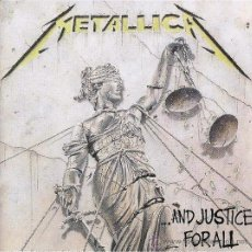 CDs de Música: METALLICA-AND JUSTICE FOR ALL-CD. Lote 38008025