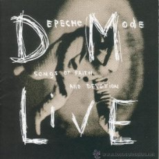 CDs de Música: DEPECHE MODE - SONGS OF FAITH AND DEVOTION, LIVE - CD. Lote 38028246