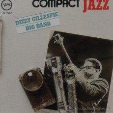 CDs de Música: DIZZY GILLESPIE BIG BAND - COMPACT JAZZ - CD. Lote 38028576