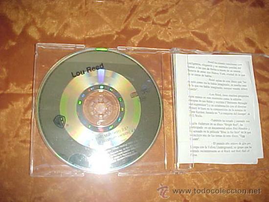 LOU REED. NYC MAN. CD PROMOCIONAL. EDICION ALEMANA (Música - CD's Rock)