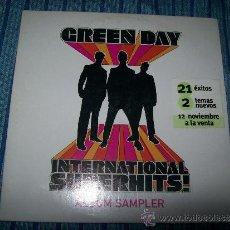 CDs de Música: PROMO MINI CD - GREEN DAY - INTERNATIONAL SUPERHITS ( 7 TRACKS). Lote 38071863