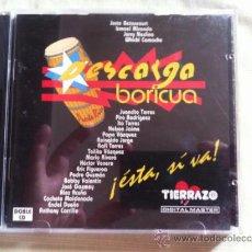 CDs de Música: CD DOBLE-DESCARGA BORICUA-ESTA,SI VA-VARIOS. Lote 38098665