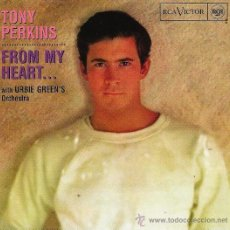 CD de Música: TONY PERKINS- FROM MY HEART- CD 1996. Lote 38155532