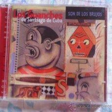 CDs de Música: CD LOS GUANCHES DE SANTIAGO DE CUBA-SON DE LOS BRUJOS. Lote 38193132
