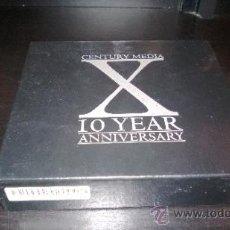 CDs de Música: CENTURY MEDIA - 10 YEARS ANNIVERSARY - 3 CD'S. Lote 38209233