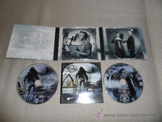 FALCONER - NORTHWIND DIGI PACK CD+DVD 2006 METALLICA MEGADETH AC DC MANOWAR DIO UDO (Música - CD's Heavy Metal)
