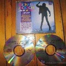 CDs de Música: MICHAEL JACKSON MIX 40 SPECIALLY SEQUENCED HITS. DOBLE RARO CD. Lote 38291939