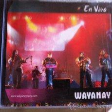 CDs de Música: CD WAYANAY-EN VIVO. Lote 38317397