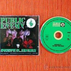 CDs de Música: PUBLIC ENEMY - APOCALYPSE 91... THE ENEMY STRIKES BLACK CD RAP HIP- HOP . Lote 38329238
