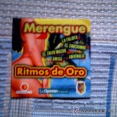 CDs de Música: CD RITMOS DE ORO LA OPINION: MERENGUE. Lote 38330538