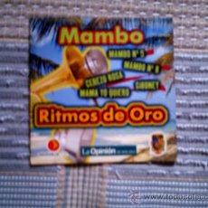 CDs de Música: CD RITMOS DE ORO DE LA OPINION: MAMBO. Lote 38330563