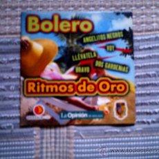 CDs de Música: CD RITMOS DE ORO DE LA OPINION: BOLERO. Lote 38330581