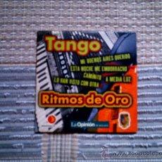 CDs de Música: CD RITMOS DE ORO DE LA OPINION: TANGO. Lote 38330612
