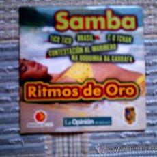 CDs de Música: CD RITMOS DE ORO DE LA OPINION: SAMBA. Lote 38330625