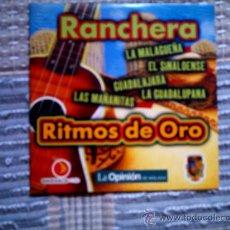 CDs de Música: CD RITMOS DE ORO DE LA OPINION: RANCHERA. Lote 38330672