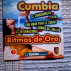 CDs de Música: CD RITMOS DE ORO DE LA OPINION: CUMBIA. Lote 38330678