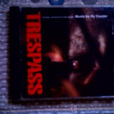 CDs de Música: CD TRESPASS BSO (MUSIC BY RY COODER). Lote 38331354