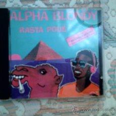 CDs de Música: CD ALPHA BLONDIE: RASTA POUE. Lote 38355491