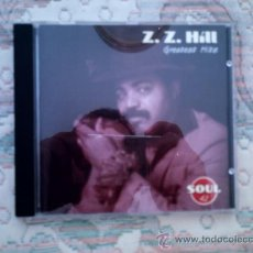 CDs de Música: CD Z.Z. HILL: GREATEST HITS (SOUL 42). Lote 38356868