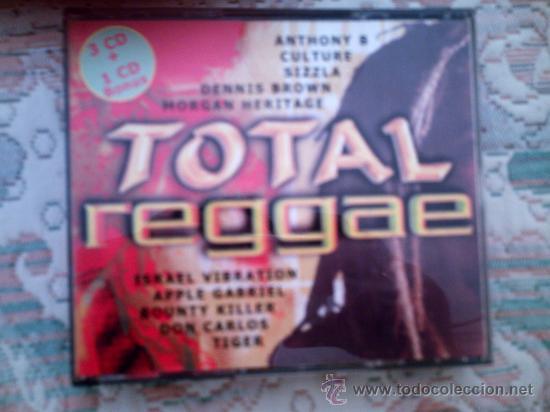 CD TOTAL REGGAE (4 CD´S) (Música - CD's Reggae)