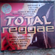 CDs de Música: CD TOTAL REGGAE (4 CD´S). Lote 38357351