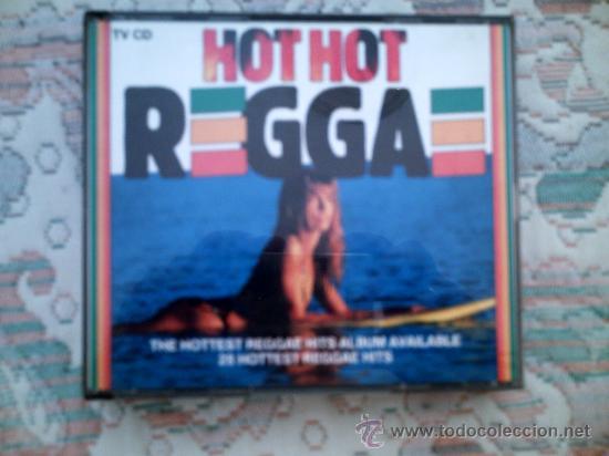 CD HOT HOT REGGAE (DOBLE CD) (Música - CD's Reggae)