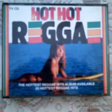 CDs de Música: CD HOT HOT REGGAE (DOBLE CD). Lote 38357383