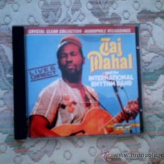 CDs de Música: CD TAJ MAHAL AND THE INTERNATIONAL RHYTHM BAND: LIVE & DIRECT. Lote 38357449
