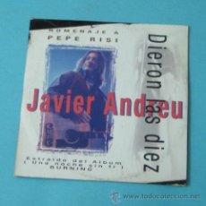 CDs de Música: JAVIER ANDREU. DIERON LAS DIEZ. HOMENAJE A PEPE RISI. Lote 38361992