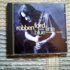 CDs de Música: CD ROBBEN FORD AND THE BLUE LINE: HANDFUL OF BLUES. Lote 38367731