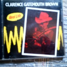 CDs de Música: CD CLARENCE GATEMOUTH BROWN: REAL LIFE. Lote 38367805