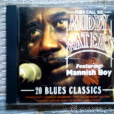 CDs de Música: CD THEY CALL ME MUDDY WATERS. Lote 38368156