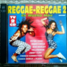 CDs de Música: CD REGGAE-REGGAE 2 ES MUCHO MAS (DOBLE CD). Lote 38368349