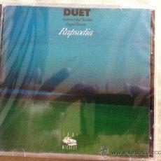 CDs de Música: CD DUET-RAPSODIA. Lote 38399452
